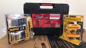 Holiday Craftsman/Dewalt tool sets for Sale in Houston, TX