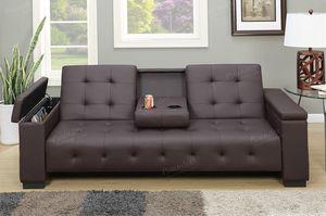 SOFA BED ESPRESSO BRAND NEW for Sale in Hialeah, FL