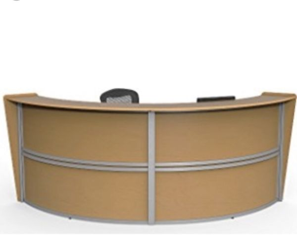 Maple Receptionist Desk New In Box For Sale In North