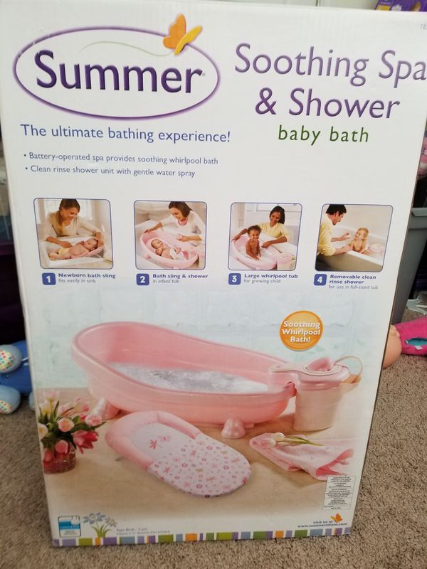 Summer Soothing Spa & Shower Baby Bath Tub for Sale in Rock Hill, SC ...