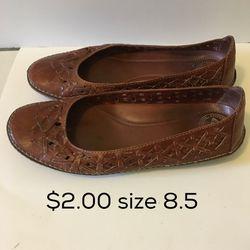 Brown Nurture Shoes size 8.5 Thumbnail
