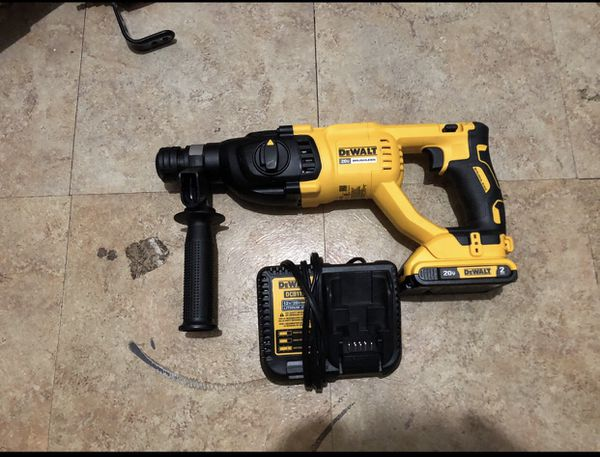 DeWALT 20v Xr Brushless Cordless SDS Rotary Hammer kit for Sale in Dallas,  TX - OfferUp