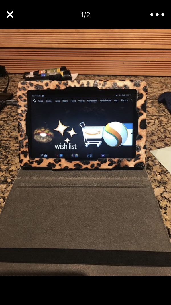 Amazon-Kindle Fire HD(3rd Generation)/ case / keyboard for Sale in Phoenix,  AZ - OfferUp