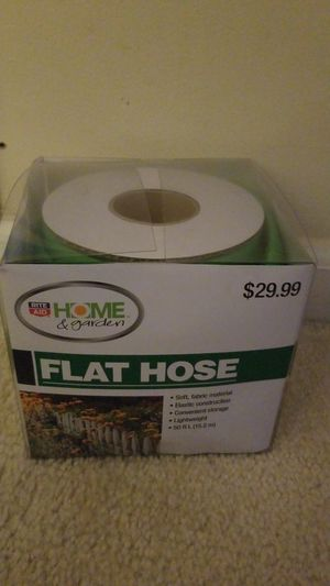 Flat hose 50ft brand new for Sale in Fort Belvoir, VA