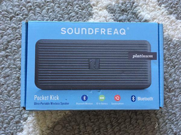 Teal Soundfreaq Pocket Kick Ultra-Portable Wireless Speaker
