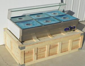 6 -pan Marie - buffet food warmer for Sale in Gaithersburg, MD