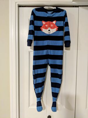 Boys Fleece pajamas by Carter's; size 4T for Sale in Sterling, VA