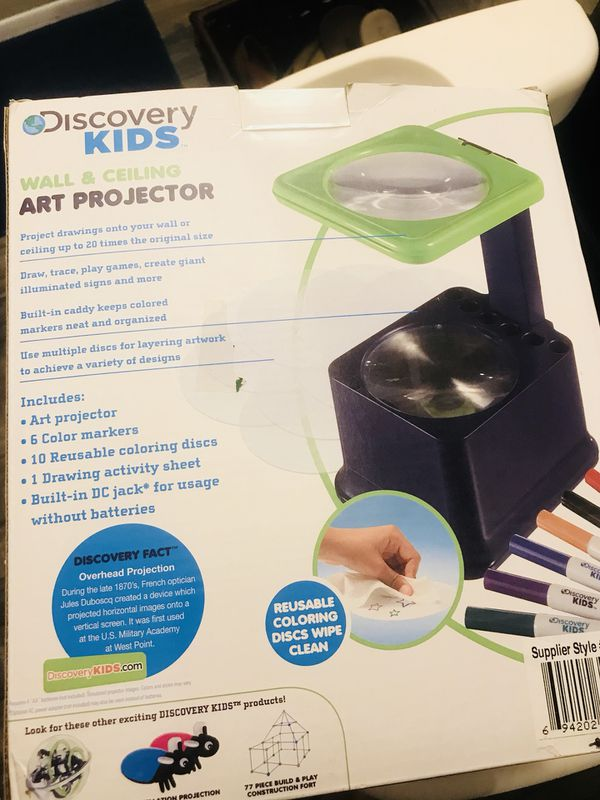 discovery kids art projector for sale in tempe az offerup