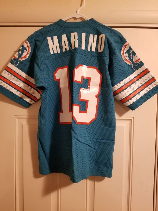 New Vintage: Miami Dolphins Dan Marino #13 Youth Jersey Large for Sale  free shipping