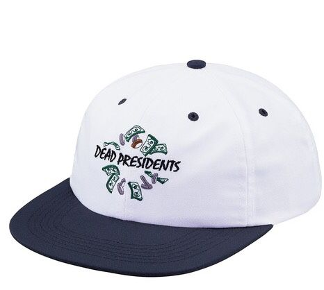 dc64db6798f SUPREME Dead Presidents 6-Panel Hat for Sale in Brooklyn