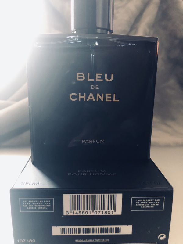 Bleu De Chanel Parfum Pour Homme For Sale In Austin Tx Offerup