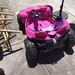 Girls Car  Toy Thumbnail