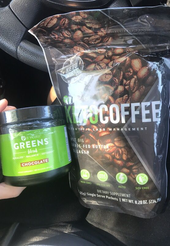 It Works Keto Coffee And Chocolate Greens Blend For Sale In Jacksonville FL