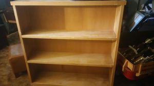 Oak Wood bookcase for Sale in Fort Washington, MD