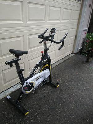 Photo Stationary exercise bike