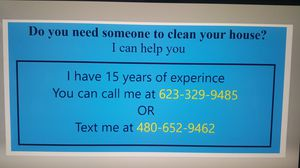 looking for job house cleaning for sale in glendale az