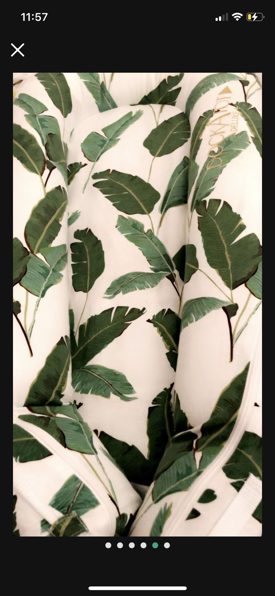 Dockatot - Banana Leaf Palm Delux Plus