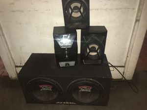 Sony mtx audio speaker for Sale in Detroit, MI