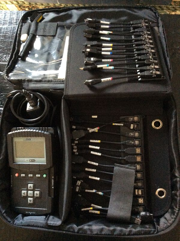 Cellebrite UME-36 PRO UNIVERSAL MEMORY EXCHANGER DATA TRANSFER KIT for Sale  in Denver, CO - OfferUp