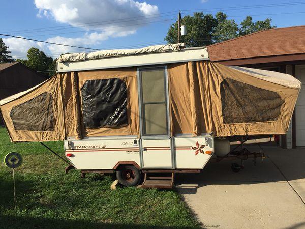 pop up camper Starcraft for Sale in Livonia, MI - OfferUp