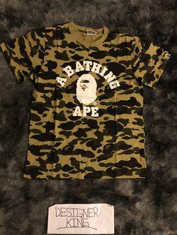 A Bathing Ape Camo Shirt Thumbnail