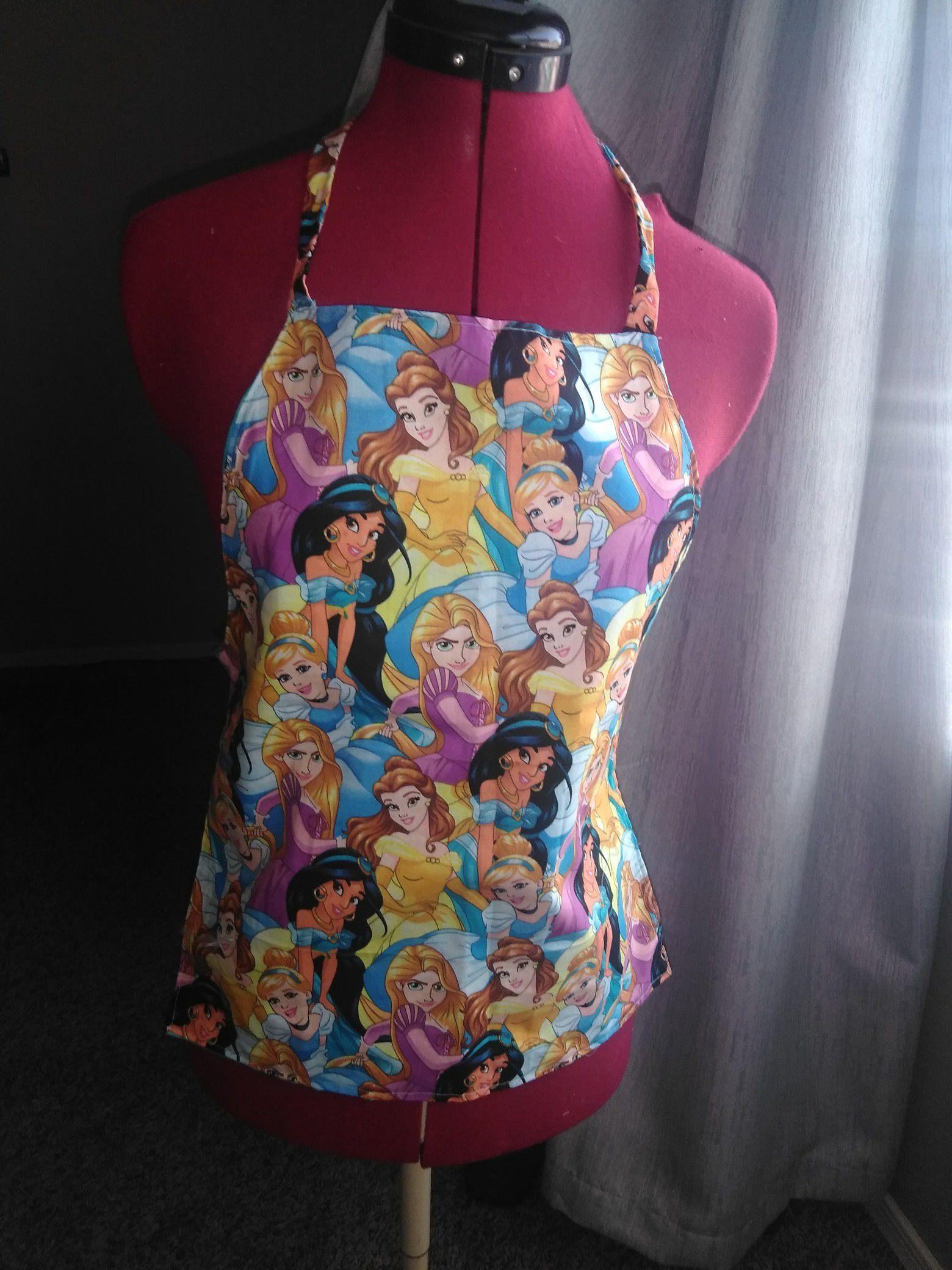 Princess apron girl