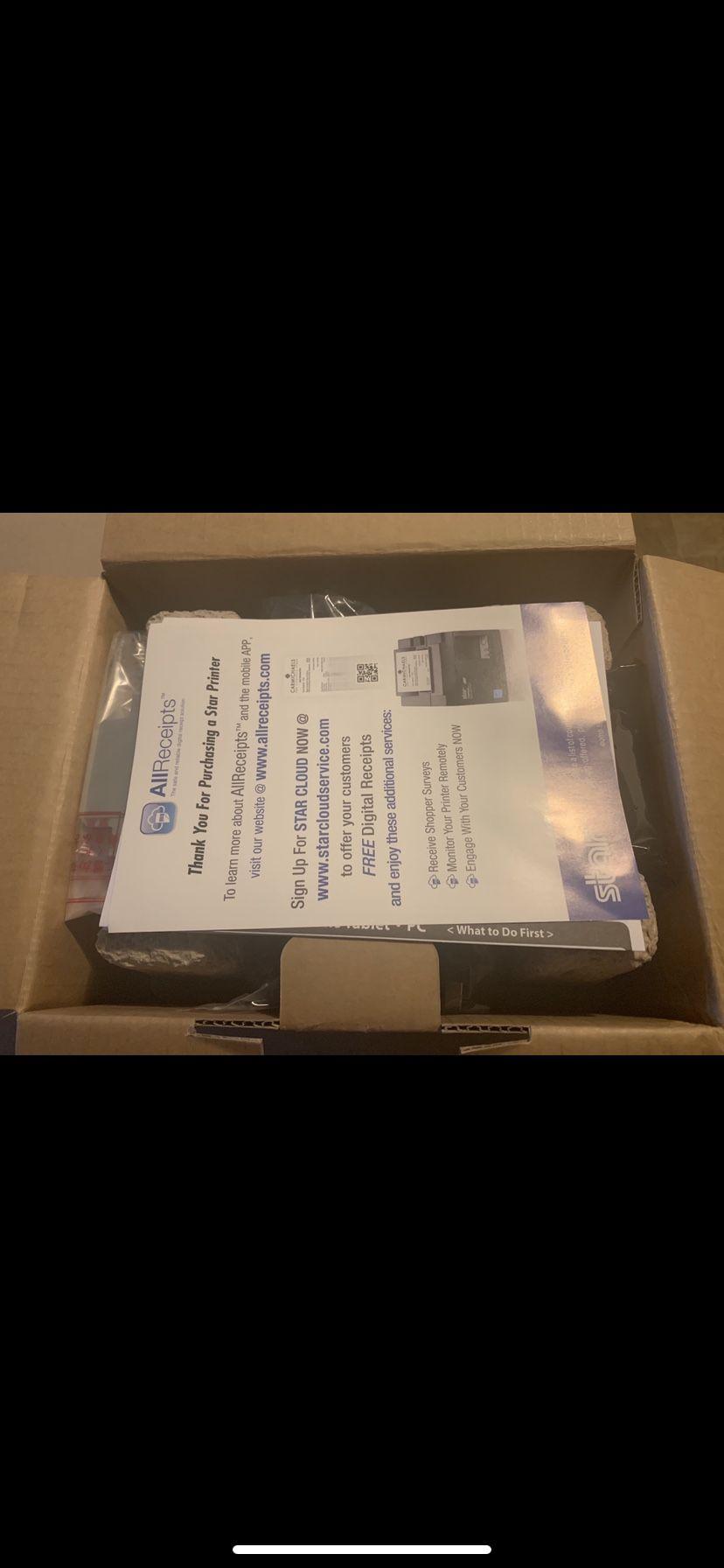 Star micronics receipt printer