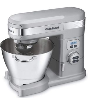 Cuisinart SM-55BC 5-1/2-Quart 12-Speed Stand Mixer, Brushed Chrome for Sale in North Miami, FL