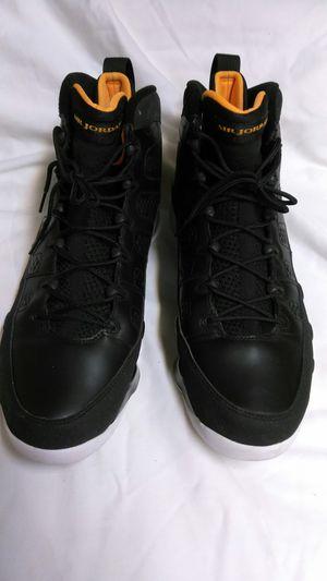 Authentic Nike Air Jordan 9 Retro Black-Citrus-White.  Size 14 f375f5fc0