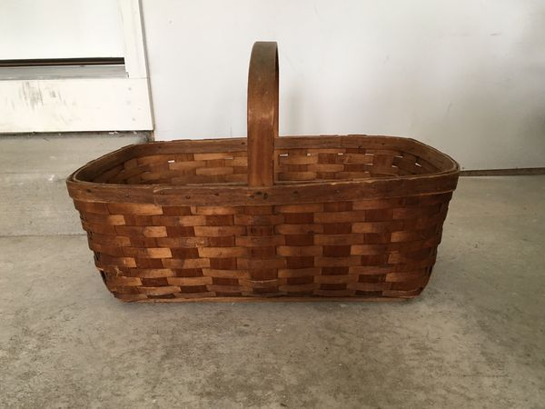 Large Old Basket For Sale In Traverse City Mi Offerup
