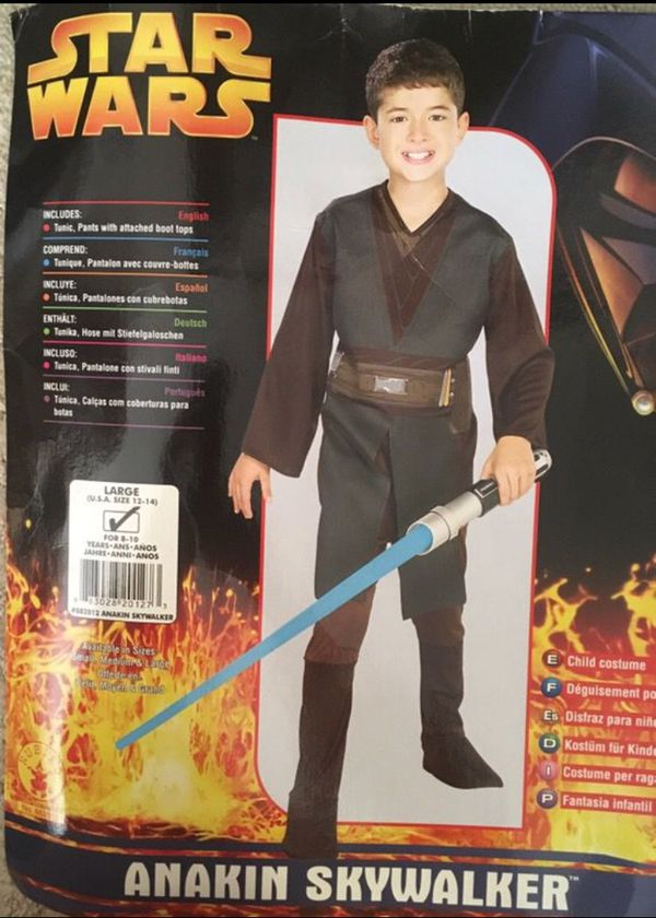 anakin skywalker halloween costume for sale in san diego ca offerup