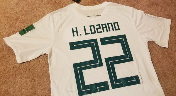 b8083adb0ef Adidas Mexico World Cup Soccer Jersey- Javier Hernandez Chicharito Lozano  (Sports   Outdoors) in Houston