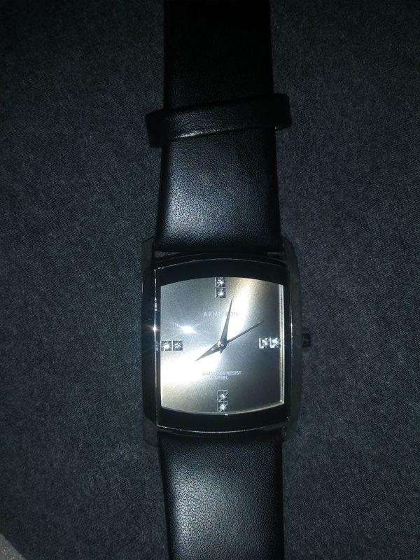 Armitron men's leather watch (Jewelry & Accessories) in Joliet, IL - OfferUp