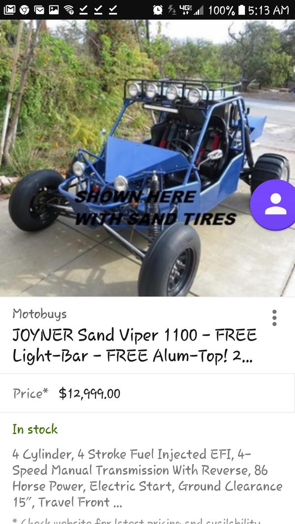 Joyner 650ccsandviper for Sale in Phoenix, AZ - OfferUp