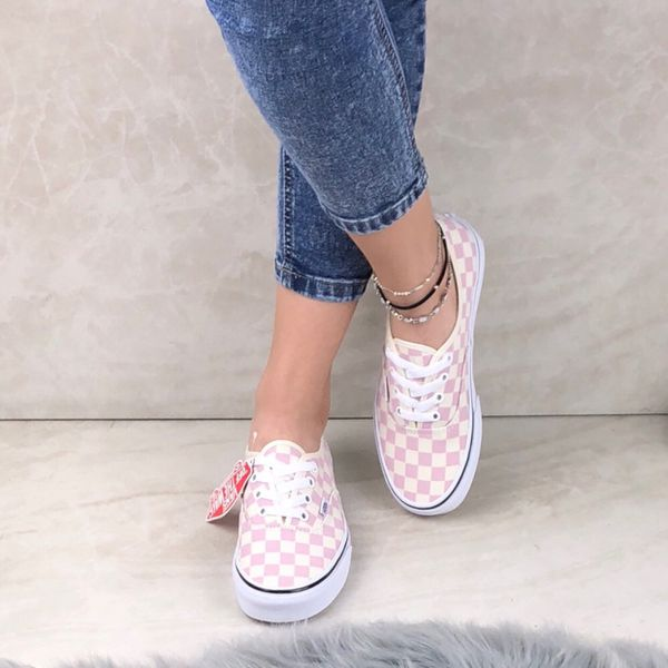 4c7659fc03 New VANS Checkerboard Chalk Pink Women Size 6.5 for Sale in Miami ...