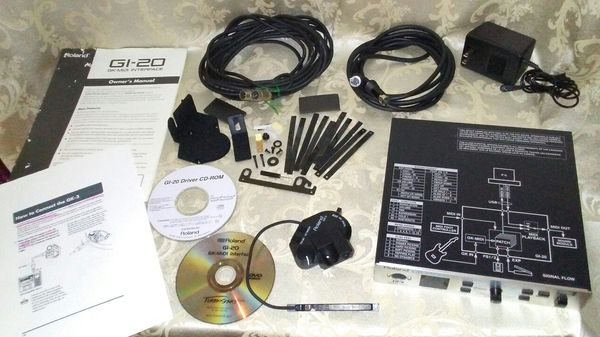 ROLAND GI-20 Midi converter w/ Gk-3 Guitar Pickup for Sale in Tampa, FL -  OfferUp