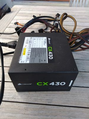 Corsair CX 430 watt gaming power supply for Sale in San Diego, CA