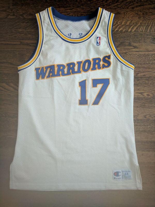 designer fashion 3c9df f057c Chris Mullin Champion jersey procut 44 Warriors Vintage for Sale in San  Leandro, CA - OfferUp