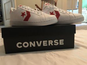 d11db4db2ade Converse EV3 Sneaker White Red OBO for Sale in Chesapeake