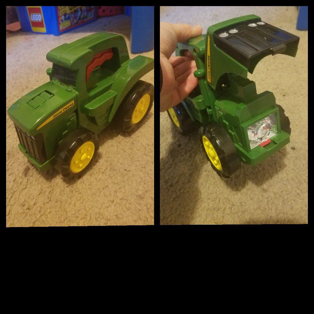 Flashlight tractor