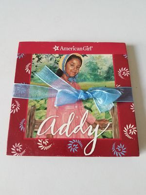 Photo American Girl Addy mini book and paper dolls