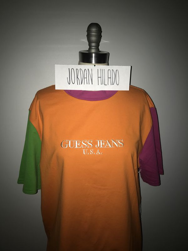 23572a4ece9 Guess Jeans x Sean Wotherspoon Color Block Tee for Sale in Cerritos ...