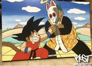 Goku and Grandpa Gohan for Sale in Falls Church, VA