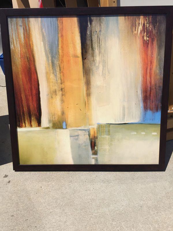 Z Gallerie Framed Artwork for Sale in Brea, CA - OfferUp