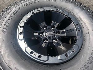 SET (4) 17x8.5 FORD F150 SVT RAPTOR BEAD-LOCK WHEELS for Sale in Houston, TX