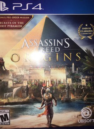 Assassins Creed Origins PS4 for Sale in Fort Washington, MD