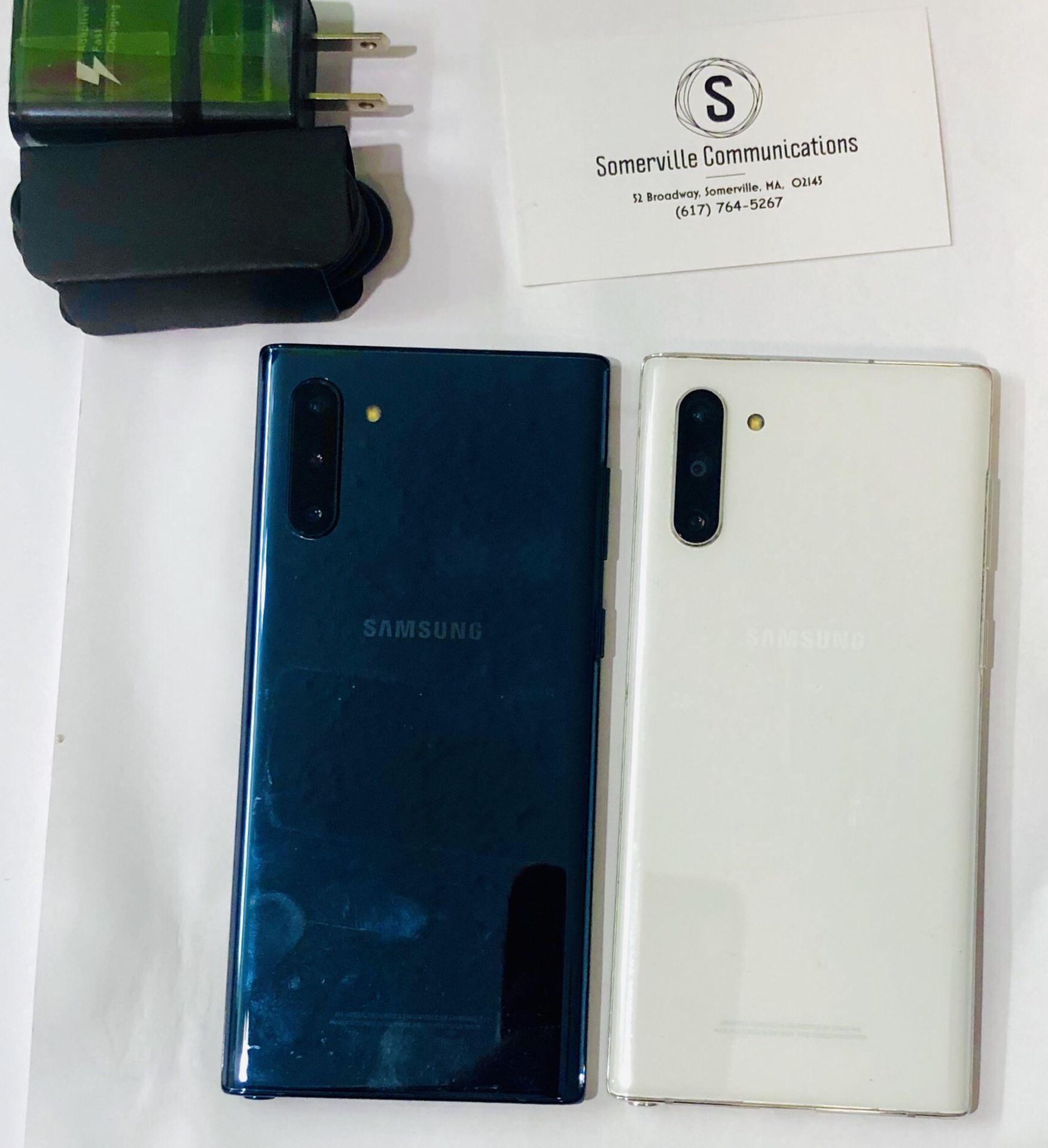 Samsung Galaxy Note 10 unlocked store warranty