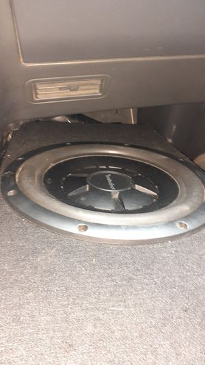 Photo Rockford fosgate R/2 12 for truck suck ash s10 or ranger single cabs
