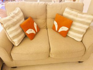 2 Queen Sofa sleeper and Loveseat for Sale in Alexandria, VA