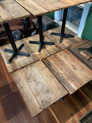 11 Reclaimed Wood Tables Tabletops And Bases 30 X 22 For